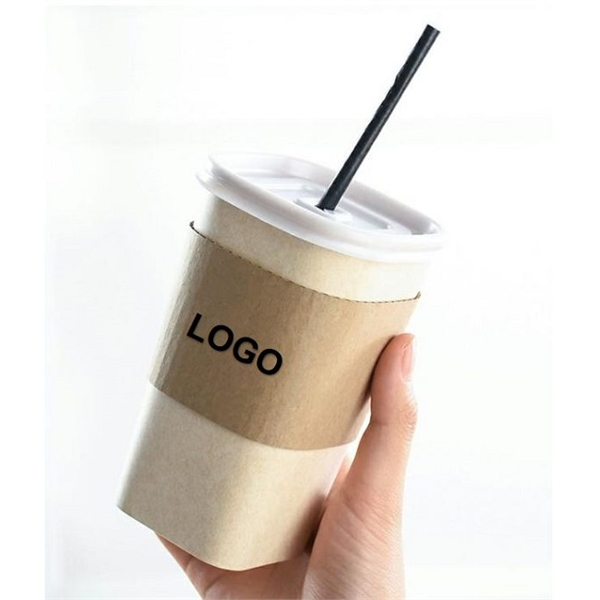 17oz 500ml Disposable Square Paper Cup