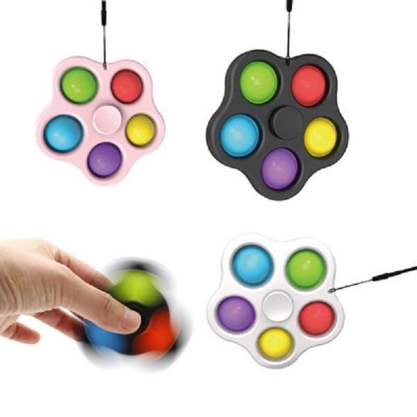 Hangable Five Bubbles Fingertip Spinners