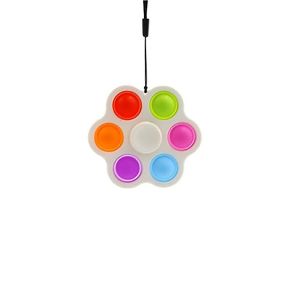 Six Bubbles Stress Relief Sensory Fidget Toys