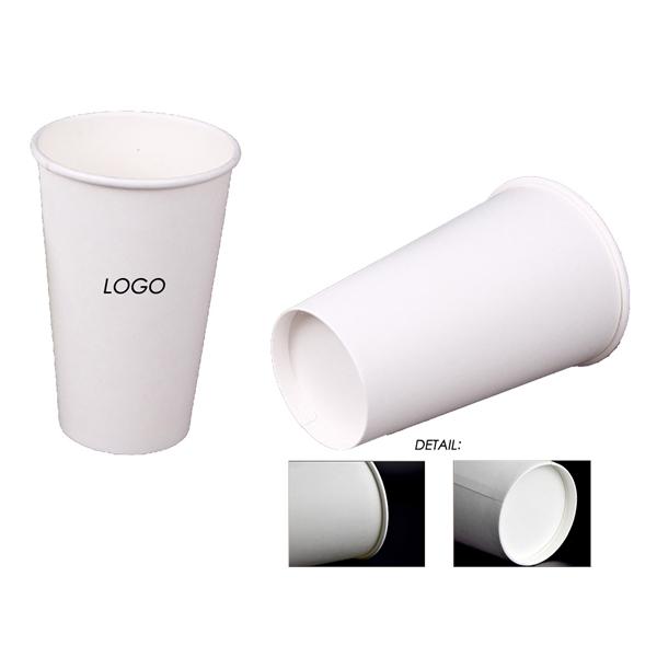 12 oz. White Paper Coffee Cups