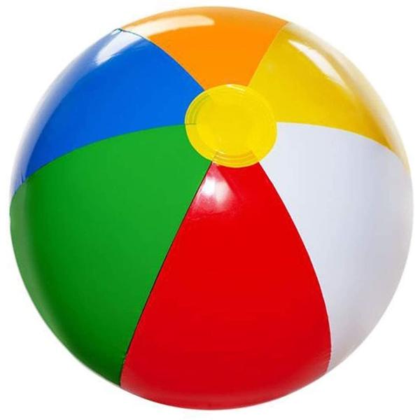 MOQ 250 pcs Custom Inflatable Beach Balls for Kids