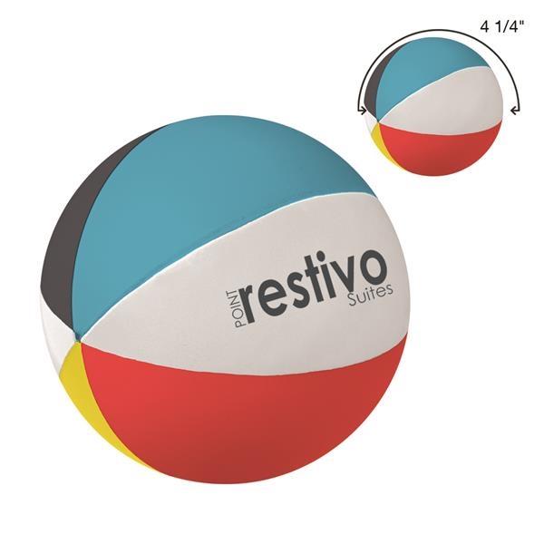 Beach Ball Shape Stress Reliever