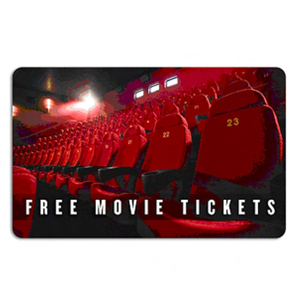 Movie ticket card