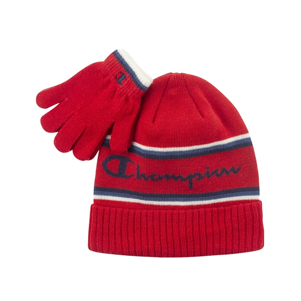 Champion Limited Edition Youth Script Winter Set