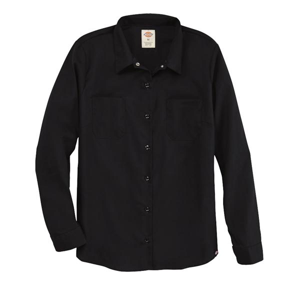 Dickies Women's Long Sleeve Industrial Work Shirt