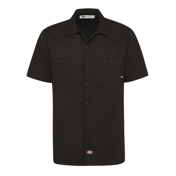 Dickies Industrial Short Sleeve Cotton Work Shirt
