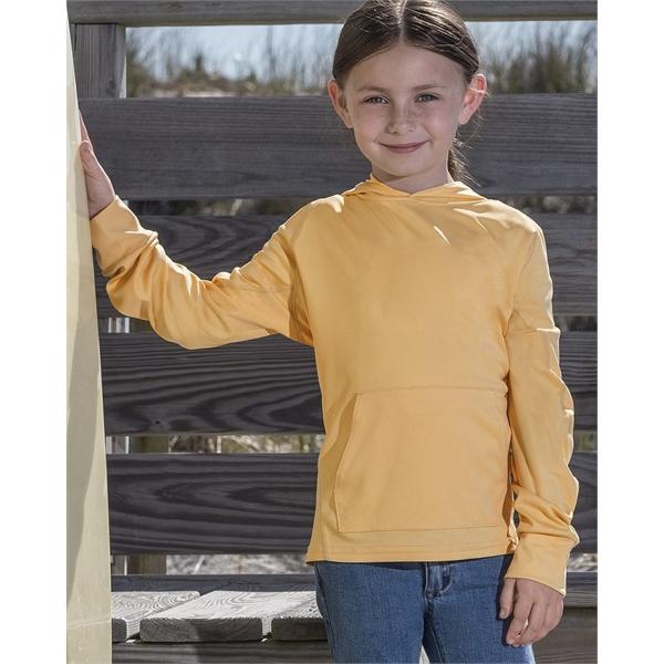 MV Sport Youth Sunproof® Hooded Long Sleeve T-Shirt
