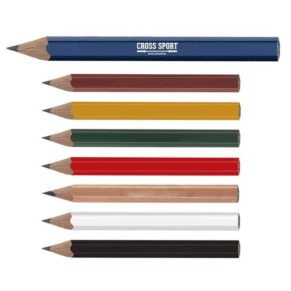 Hex-Shaped Golf Pencil