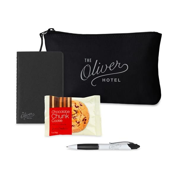 Notes On-the-Go Gift Set with Snack