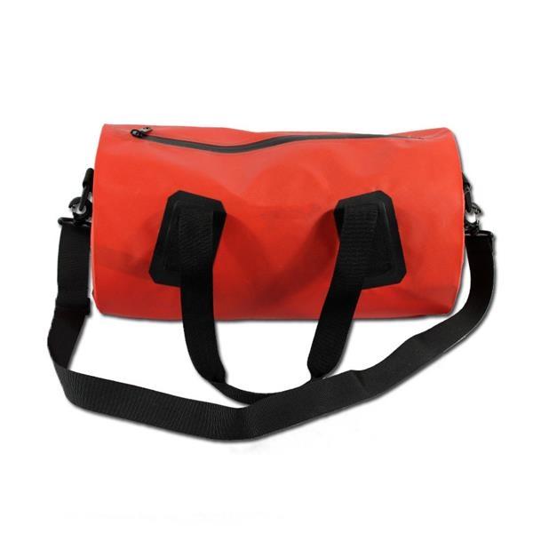 Waterproof PVC Duffle Bag Cylindric Rafting Package