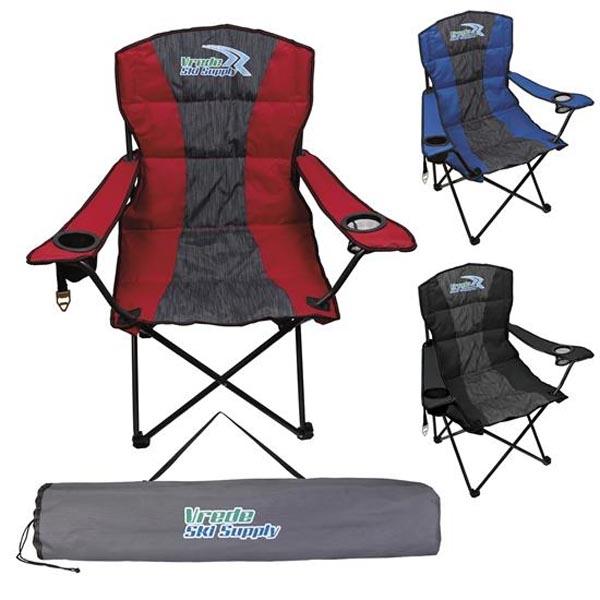 Premium Heather Stripe Chair