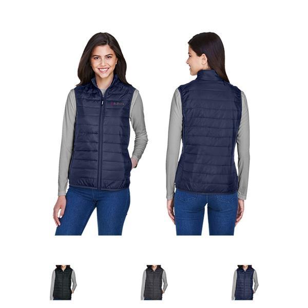 Core 365® Ladies' Prevail Packable Puffer Vest