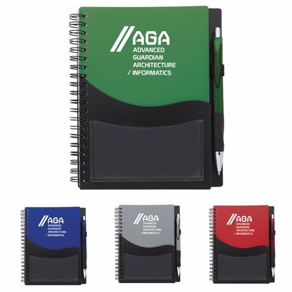 Tide Pocket Notebook with Grip Pen