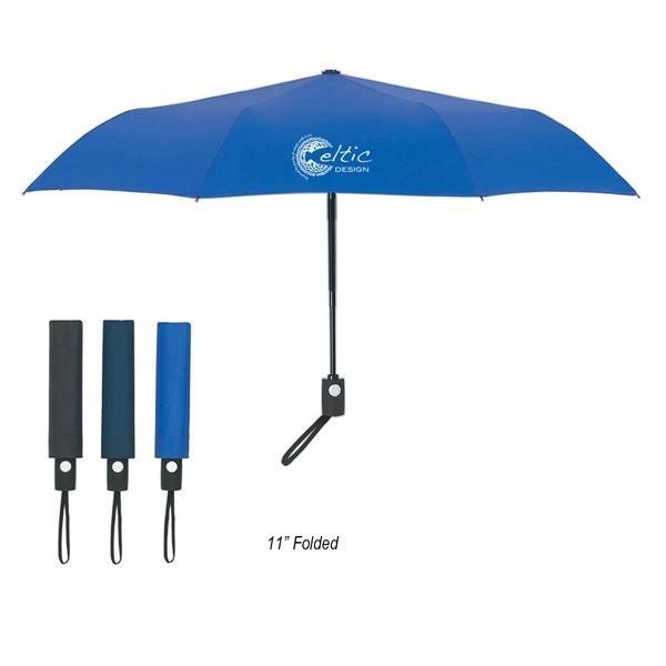 "43"" Arc Telescopic Folding Automatic Open And Close Umbrella"