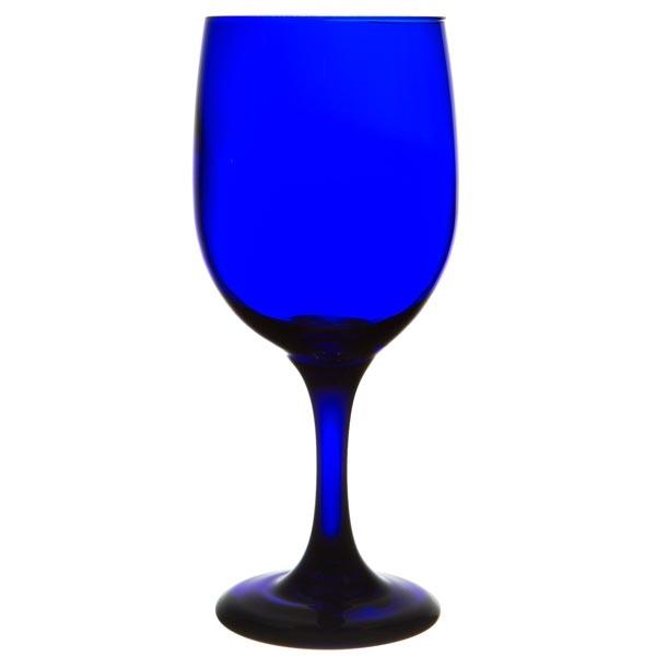 Libbey Cobalt Blue Goblet 11.5 oz.