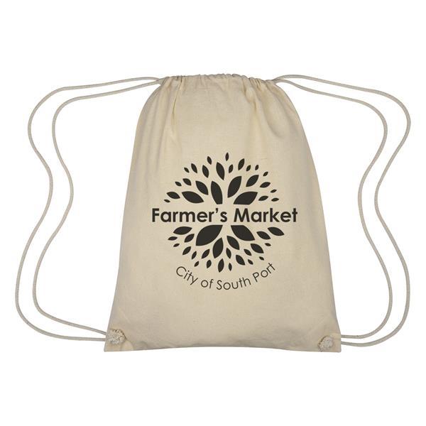 Cooper Cotton Drawstring Bag