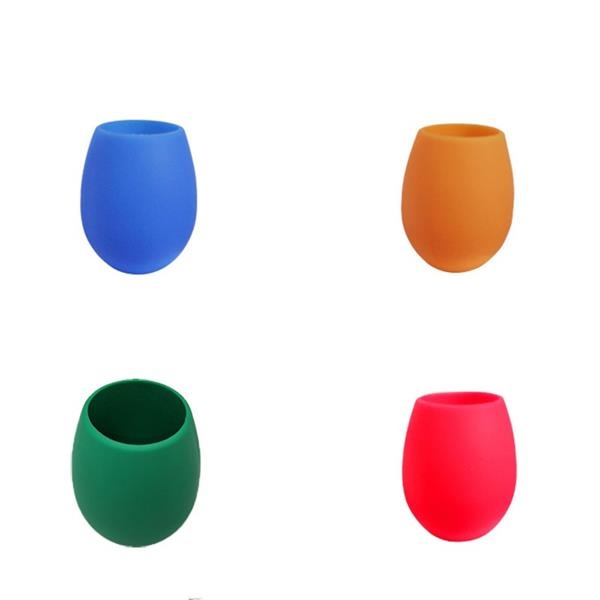 Portable Silicone Wine Champagne Drinking Cup