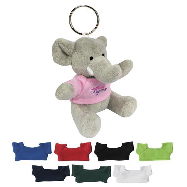 Mini Elephant Keychain