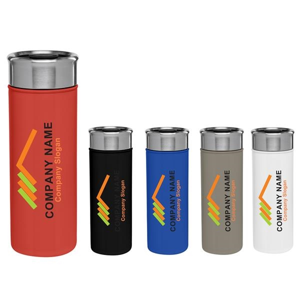 18 oz Durable Stainless Steel Vacuum-Insulated Tumbler