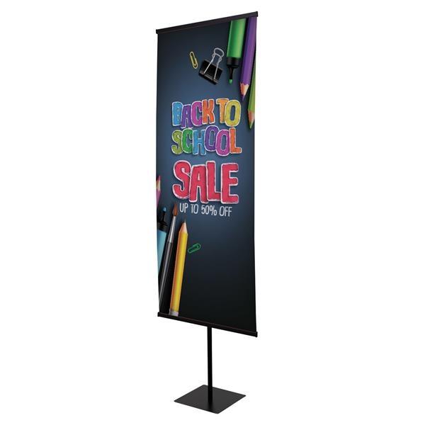 "30"" Everyday Snap Rail Banner Display Kit"