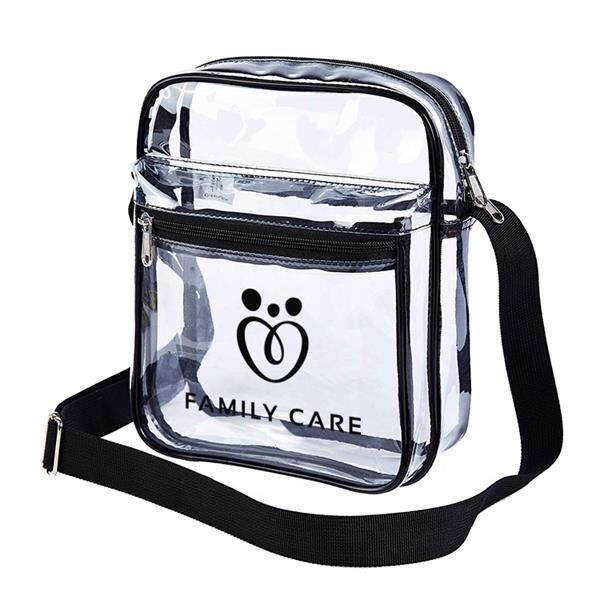 Clear Stadium Messenger Bag