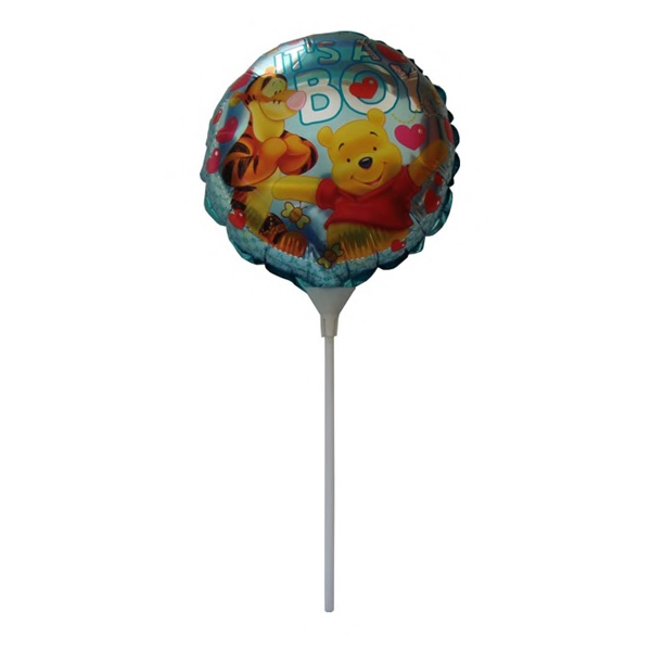 It's A Boy Balloon - Mylar balloon. It's a Boy on a stick.