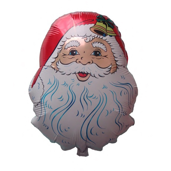 Santa Balloon - Mylar balloon. Santa Claus.