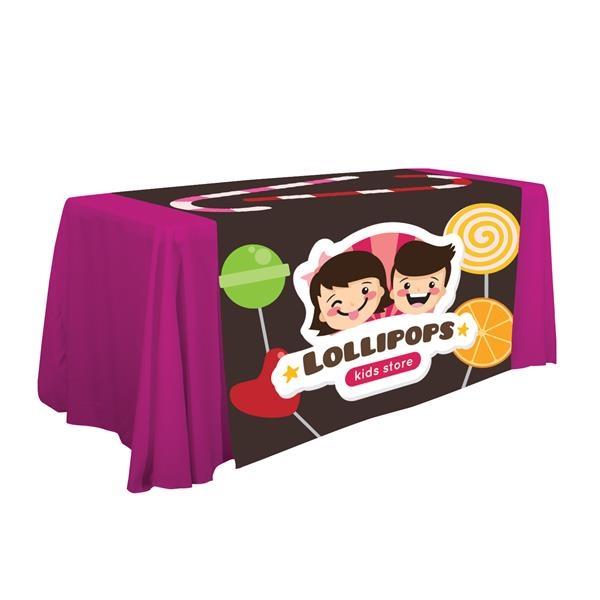 """57"""" LazerLine Table Runner Full-Color full-Bleed"""