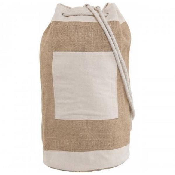 Jute Duffel Bag