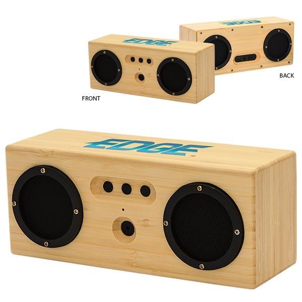6W Silas Bamboo Bluetooth® Speaker