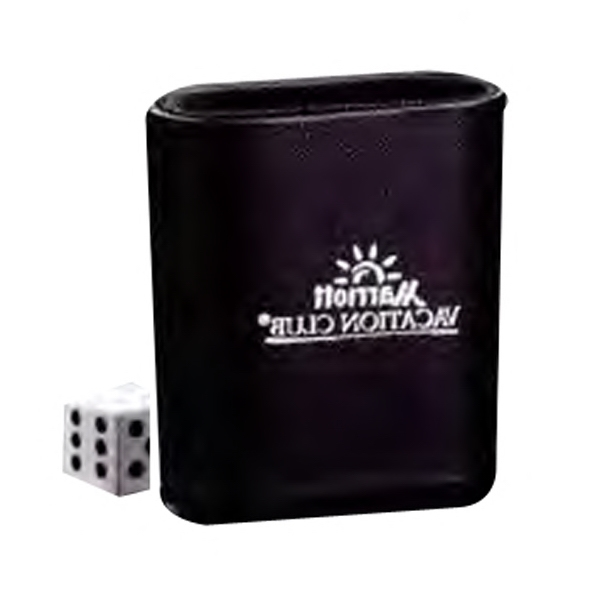 Five Chances Dice Game With Custom Imprinted Dice Cup Photo