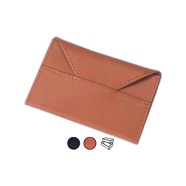 Leather Business Card Envelope Photo
