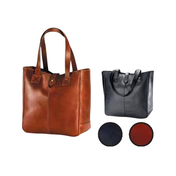 Bridle - Beautiful Oversized Leather Tote With A Partially Lined Interior Photo