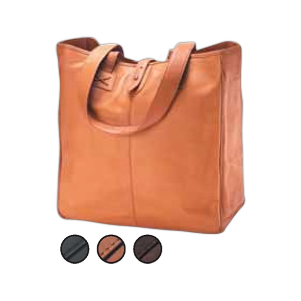 Vachetta - Oversized Roomy Shopper For The Woman Who Carries Everything With Her At All Times Photo