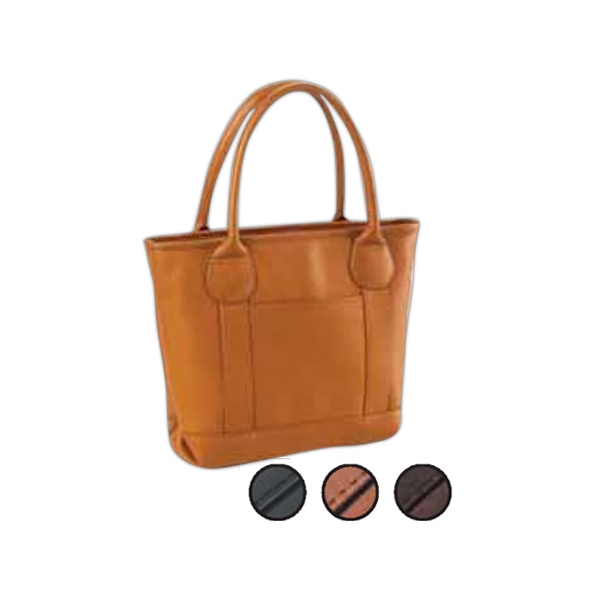 Nantucket - Tiny Tote That Is Perfect For An Everyday Handbag With Interior Back Wall Pocket Photo