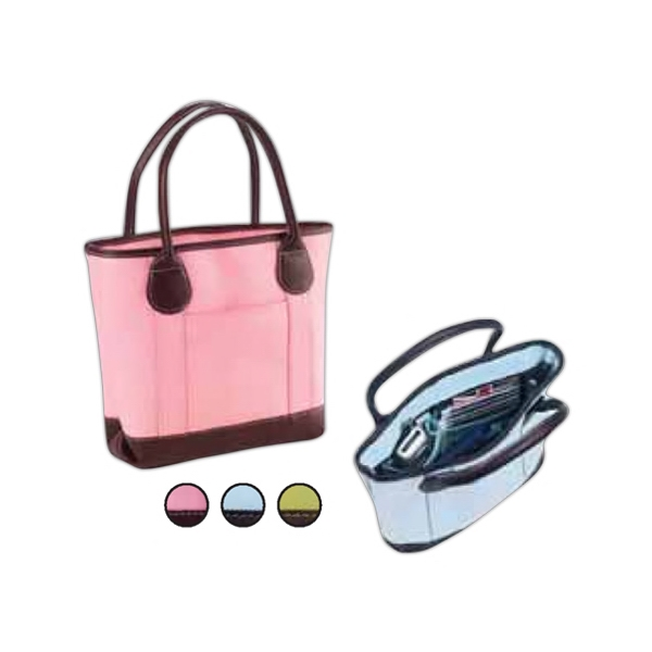 Vachetta Nantucket - Colored Tiny Tote In Pretty Pastel Colors That Is Perfect For An Everyday Handbag Photo