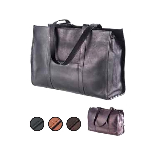Shoe Tote With A Divided Interior With Two Section For Organization Photo