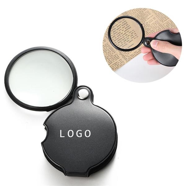 Foldable Leather Case Magnifier