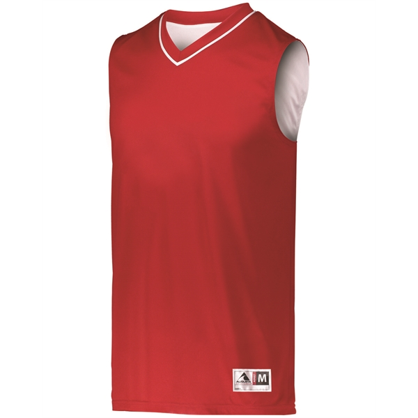 Augusta Sportswear Adult Reversible Two-Color Sleeveless ...
