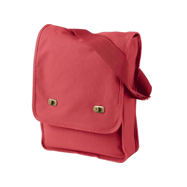 Authentic Pigment Pigment-Dyed Canvas Field Bag