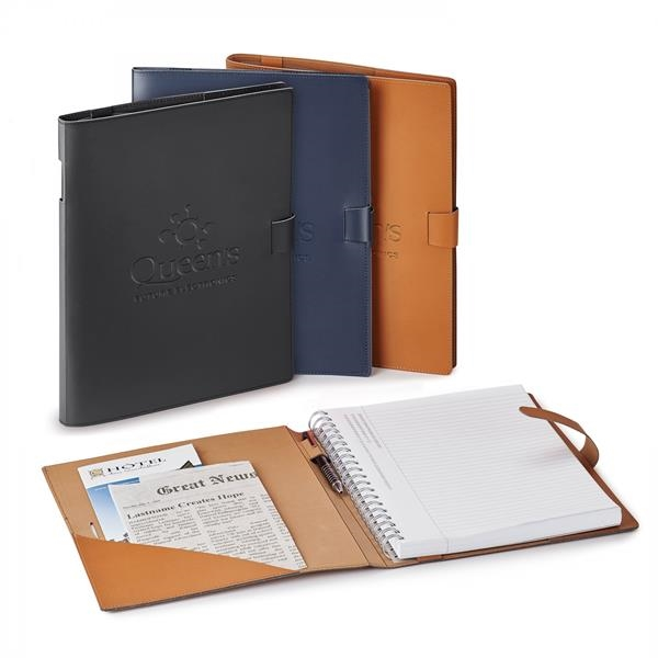 GIUSEPPE DI NATALE REFILLABLE LEATHER JOURNAL