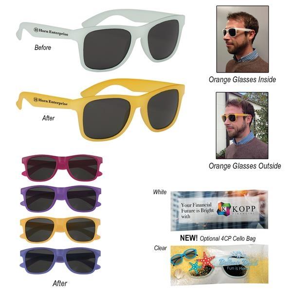 Color Changing Malibu Sunglasses