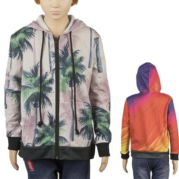 Kids Full Color Hoodie w/ Zipper & Pockets Sublimated Hoodie
