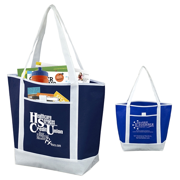The Liberty Beach, Corporate and Travel Boat Tote Bag
