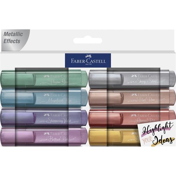 Metallic Highlighter 8Ct Pack