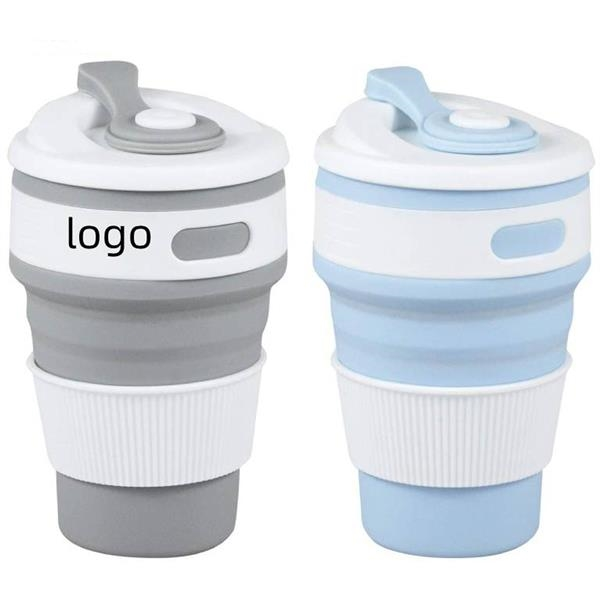 Silicone Collapsible Cups Reusable Travel Cup