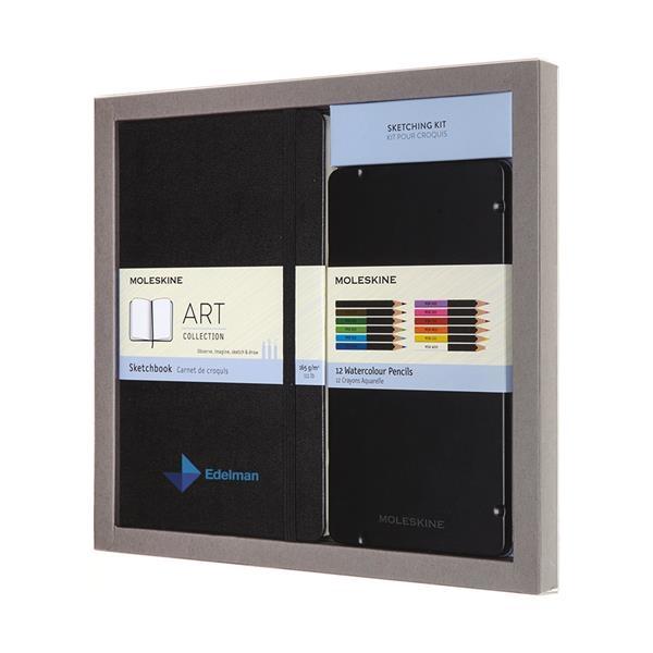 Moleskine® Coloring Kit - Sketchbook and Watercolour Pencils