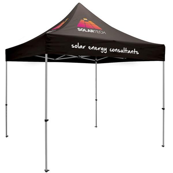 10' Premium Tent Kit (Imprinted, 3 Locations)