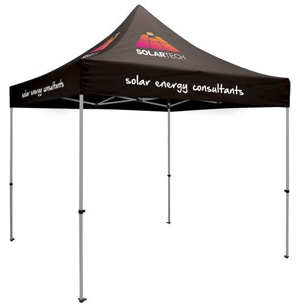10' Premium Tent Kit (Imprinted, 8 Locations)