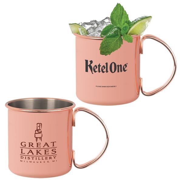 Tahiti Copper Plated Moscow Mule Mug